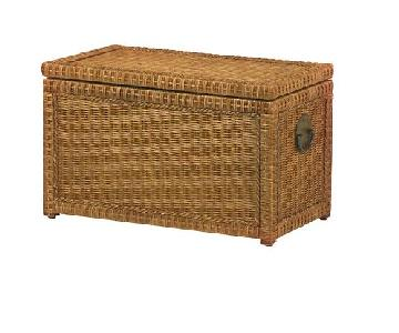 Pier 1 Rattan Trunk/Storage Chest