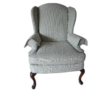 Pembrook Queen Anne Wing Back Chair