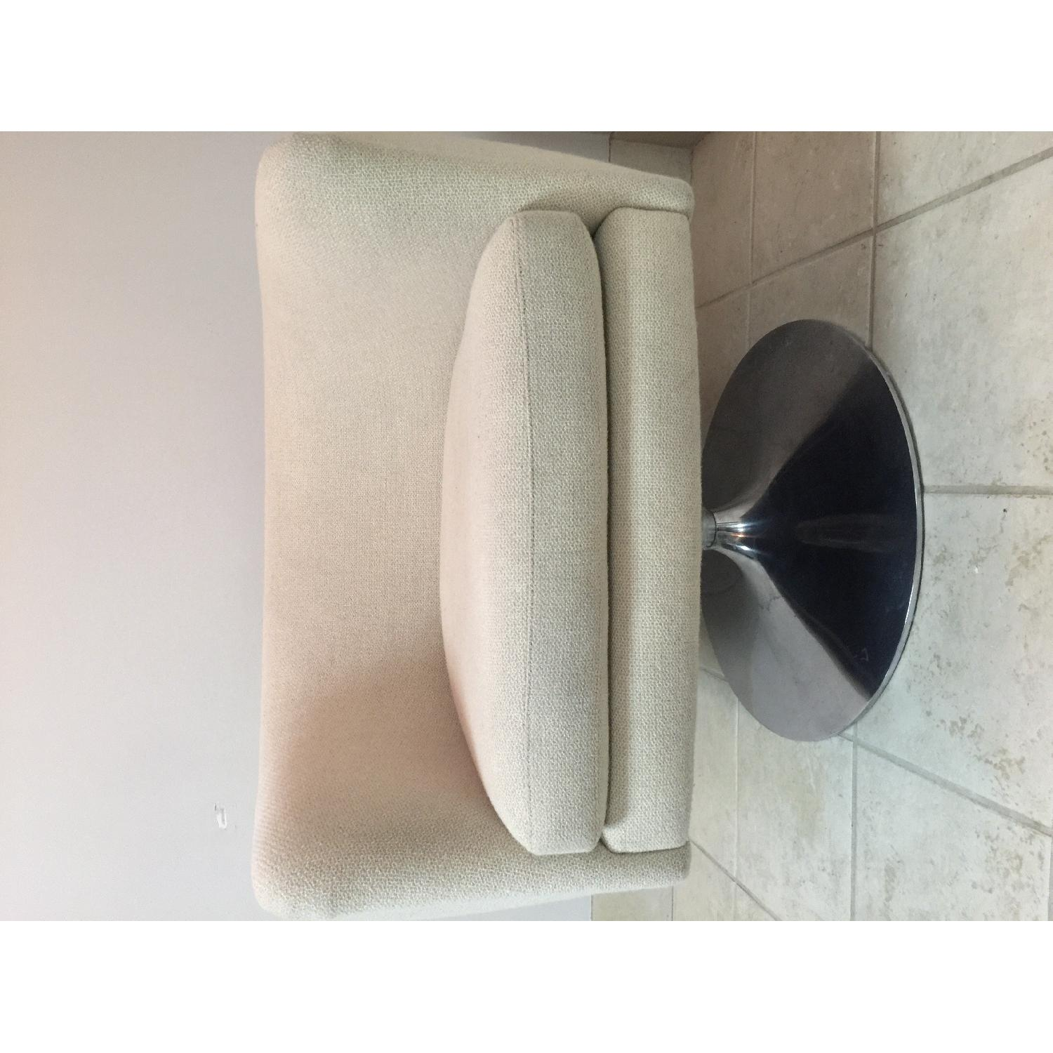 Knoll D'Urso Swivel Lounge Chair - 2 Available - image-5