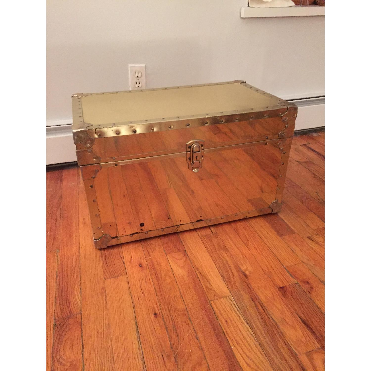 Gold Vintage Trunk - image-5