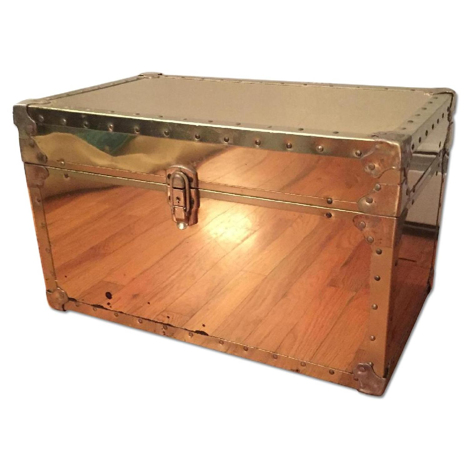 Gold Vintage Trunk - image-0