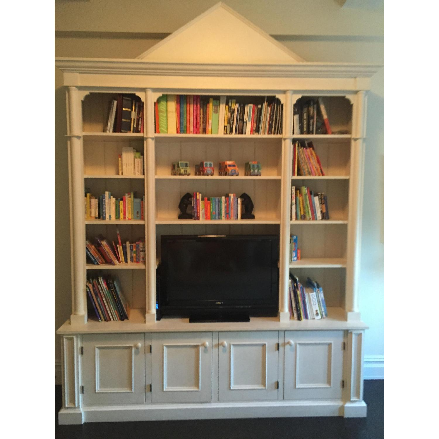 ABC Carpet & Home Toad Hill Collection Bookcase w/ TV Shelf - image-1