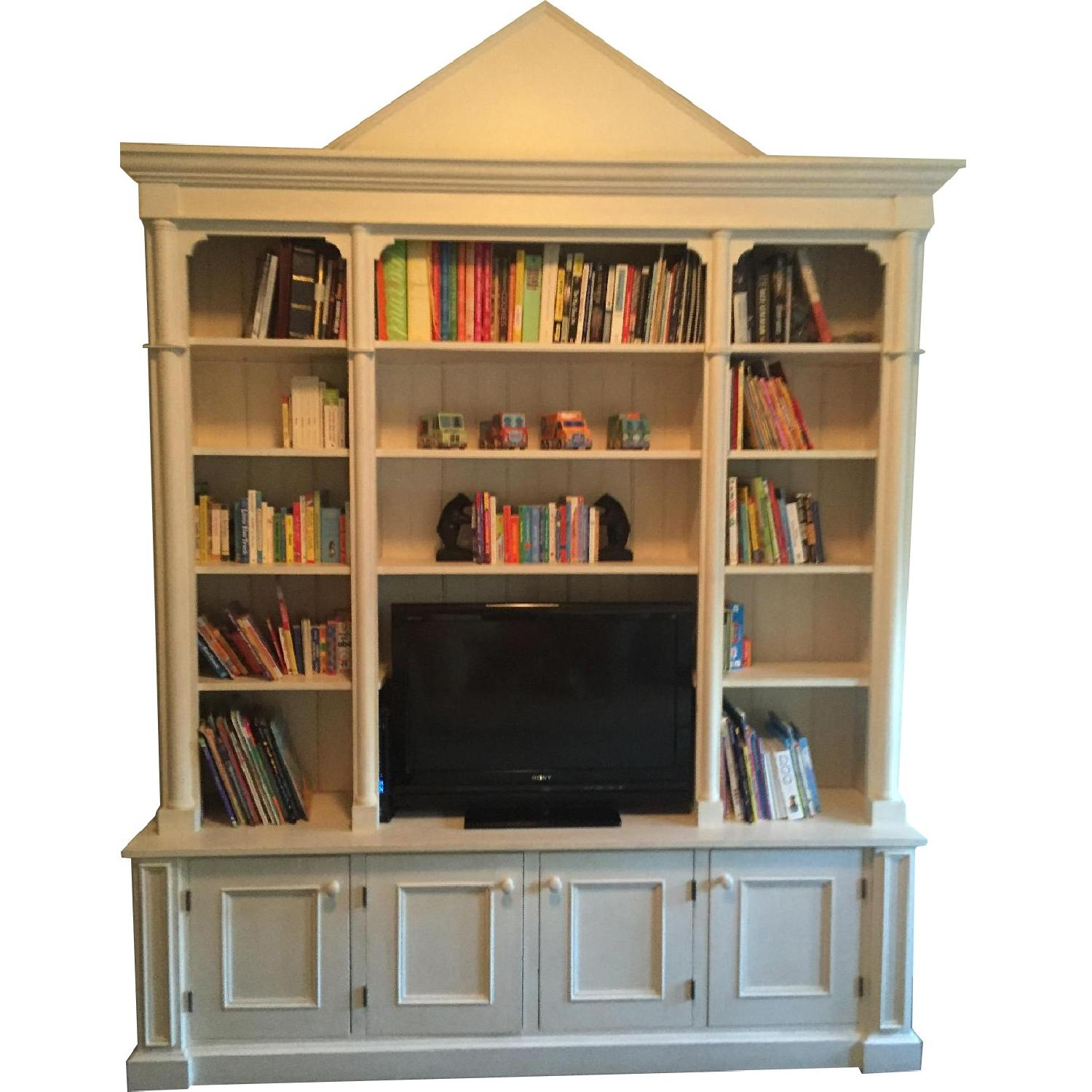 ABC Carpet & Home Toad Hill Collection Bookcase w/ TV Shelf