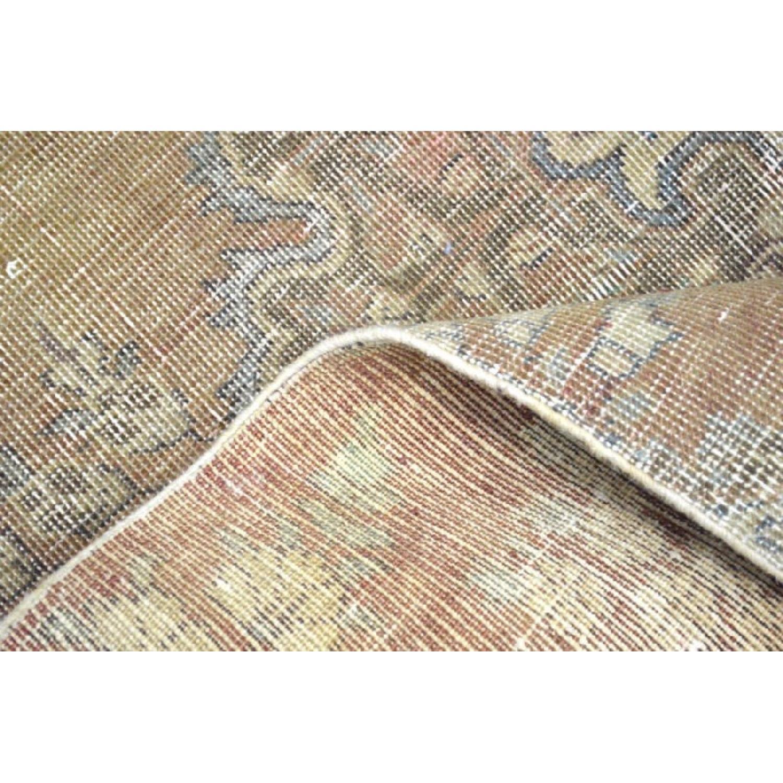 Persian Tabriz Overdyed Handmade Rug - image-1