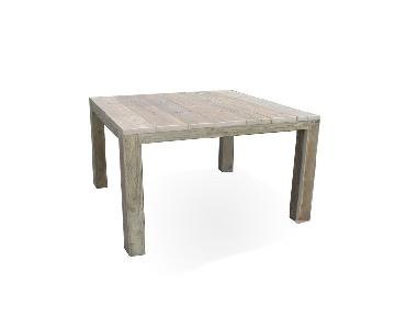 Memphis Aged Pinewood Dining Table