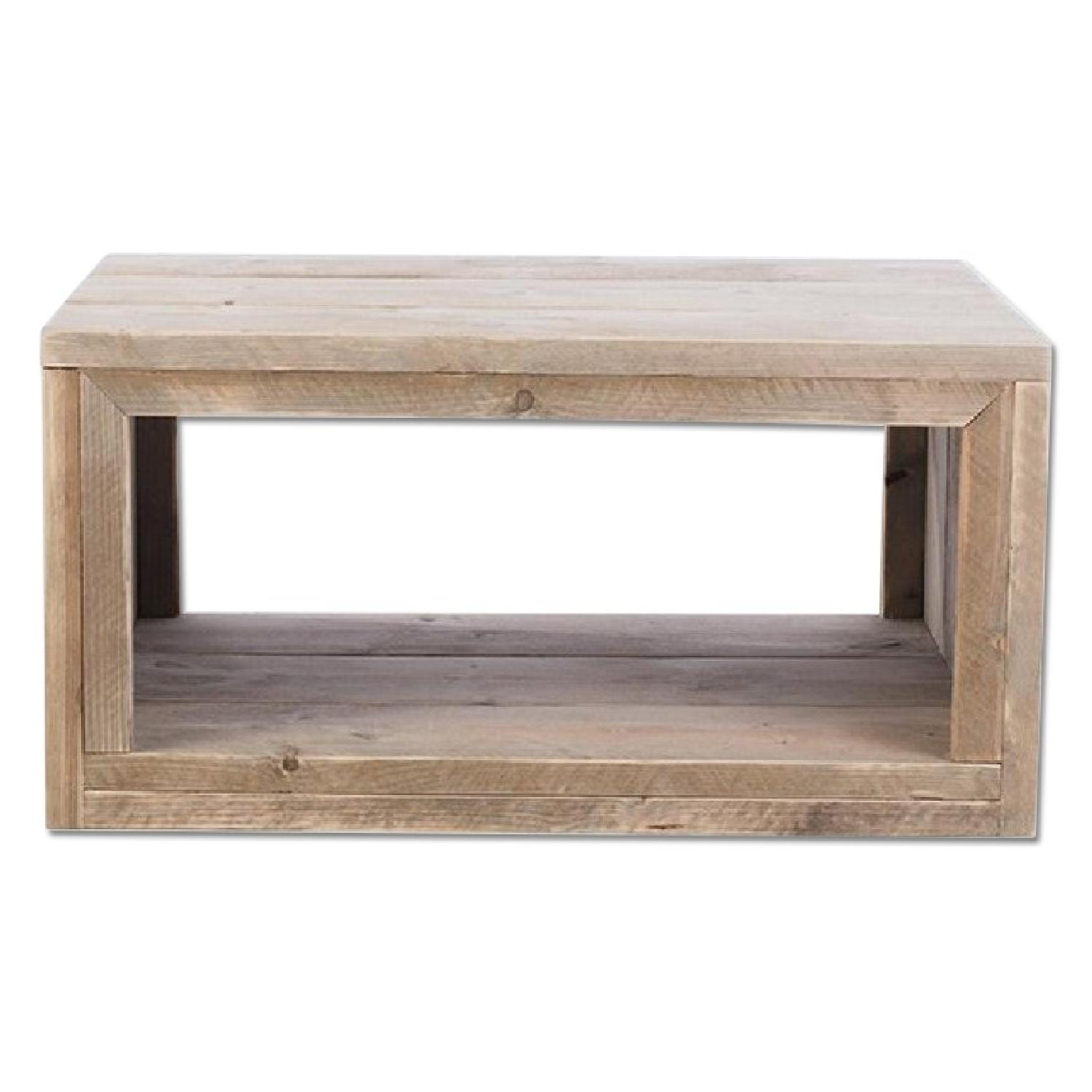 Custom Pine Tree Trunk Coffee Side Table Aptdeco