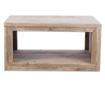 Albany Aged Pinewood Coffee Table