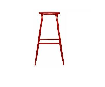 CB2 Industrial High Stool