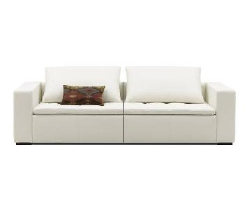 BoConcept Mezzo Modular Leather Sofa