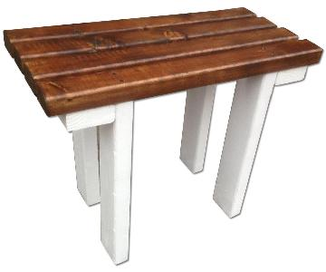 Small Wood Bench