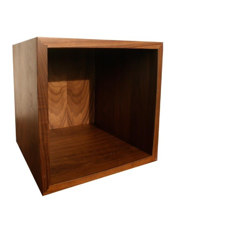 Modern Walnut Shelving/Shelf