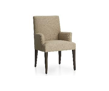 Crate & Barrel Miles Upholstered Dining Chair