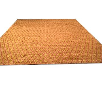 ABC Carpet and Home Bamboo Silk Graphic Area Rug