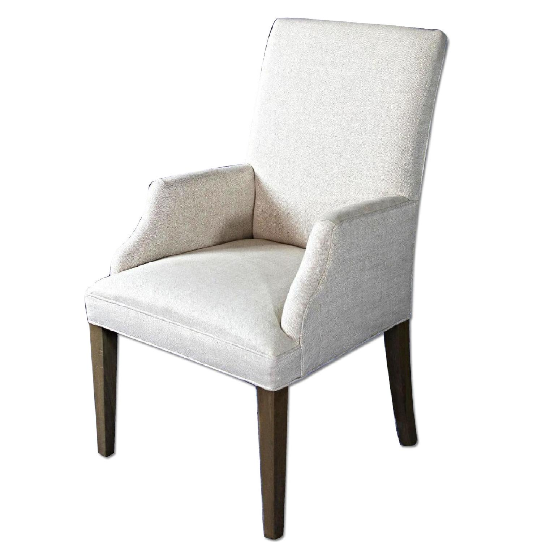 Custom Modern Upholstered Armchair