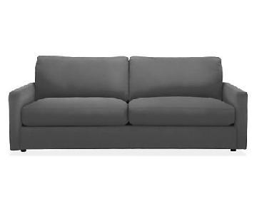 Room & Board Easton Dark Grey Sofa