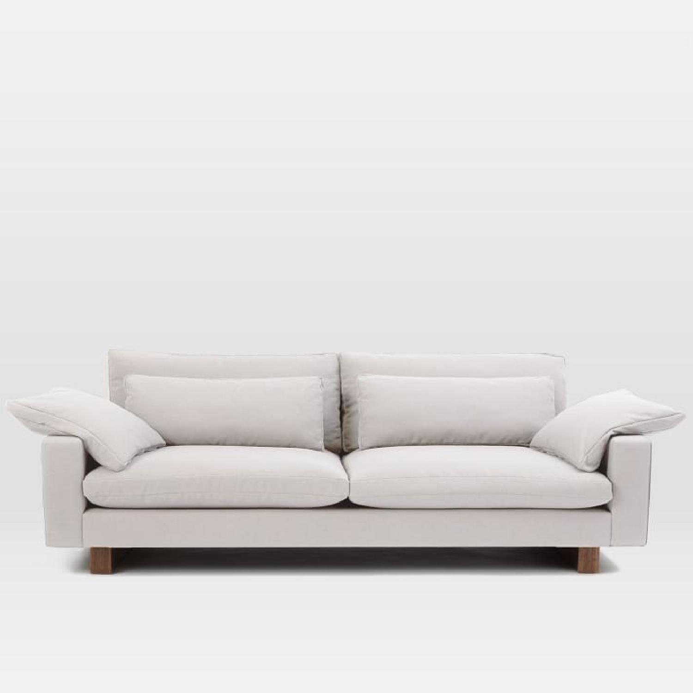 west elm harmony xl grand sofa in eco weave oyster aptdeco. Black Bedroom Furniture Sets. Home Design Ideas