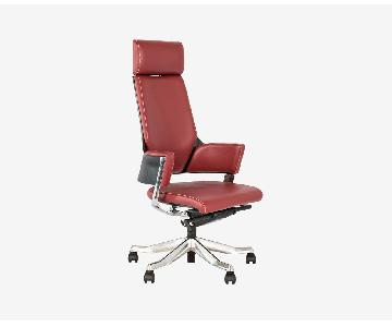 Scandinavian Designs Leather Office Chair