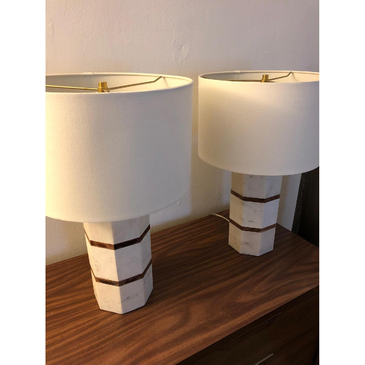 Pottery Barn Replacement Lamp Shades: Pottery Barn Johannes Lamp W/ Shade