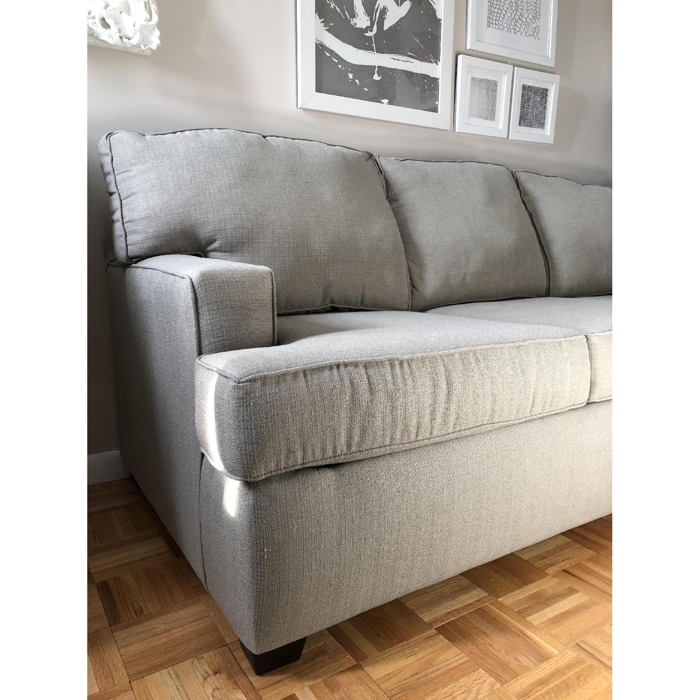 Wayfair Birch Lane Clarkedale Sleeper Sofa In Gray Aptdeco ~ Clarkedale Sleeper Sofa