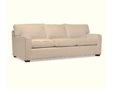 Pottery Barn Square Upholstered Sleeper Sofa