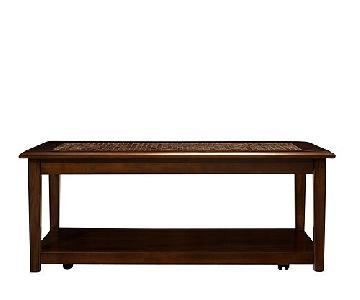 Raymour & Flanigan Wood Coffee Table