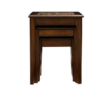 Raymour & Flanigan Nesting Side Tables
