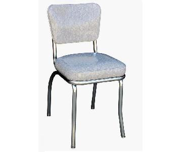 Grey Retro Dinner Chair