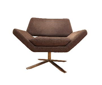 Nuevo Living Sly Swivel Lounge Chair