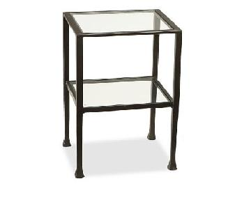 Pottery Barn Metal Side Table
