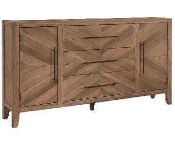 Natural Pattern Wood Dresser