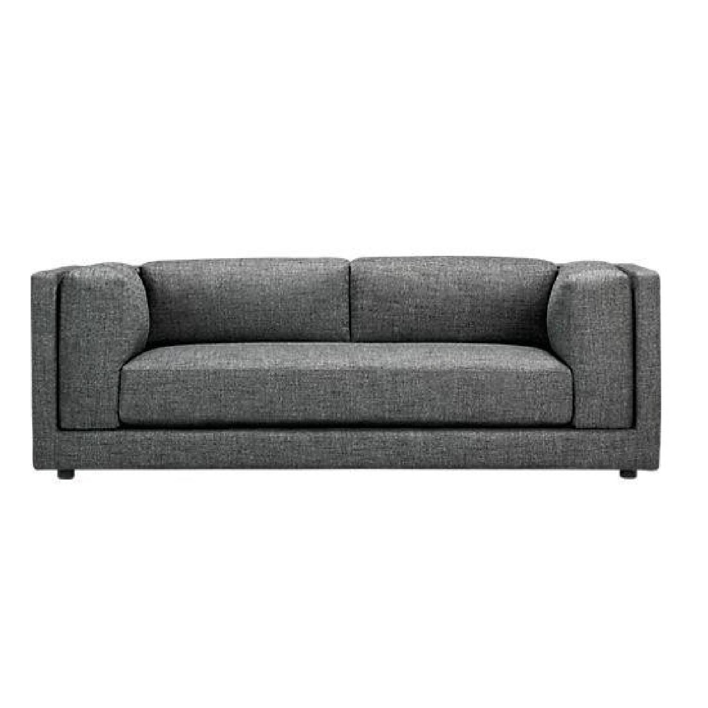 CB2 Bolla Grey Sofa