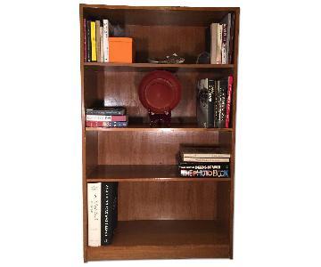 Custom 5 Shelf Bookcase