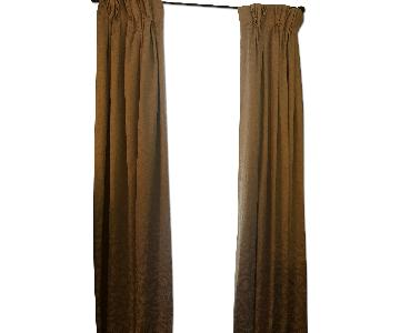 Cream Colored Blackout Curtain