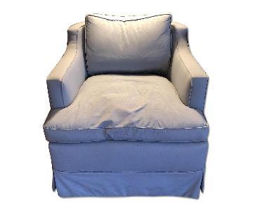 Silver Grey Armchair
