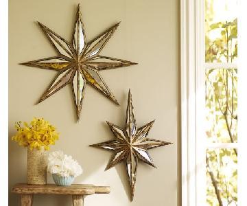 Pottery Barn Decorative Star Mirrors