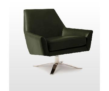 West Elm Lucas Swivel Base Chair