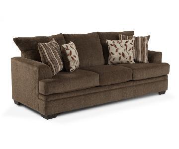Bob's Miranda Sofa in Brown