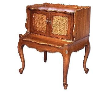 Vintage French Mahogany End Table/Nightstand