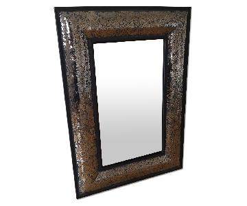 Black Mirror w/ Shattered Glass Effect Border