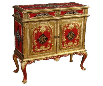 20th Century Florentine Lacquered & Gilt Sideboard