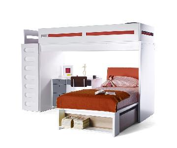 DucDuc Alex Bunk Bed in Walnut