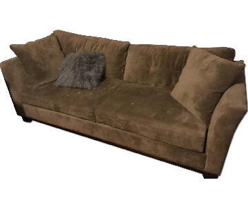 Macy's Mocha Couch