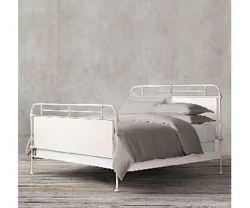 Restoration Hardware French Academie Bed Frame w/ Footboard