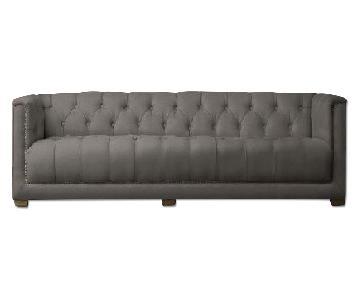 Restoration Hardware Savoy Upholstered Sofa