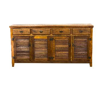 Save The Planet Reclaimed Wood Rustic Buffet/Sideboard