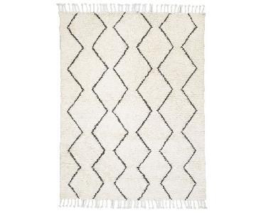 West Elm Souk Wool Rug in Ivory