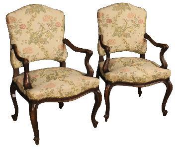 20th Century Italian Armchair In Fabric