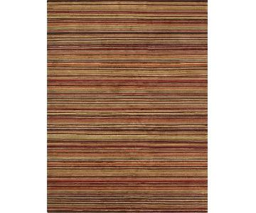 Crate & Barrel Gianni Hand Knotted Wool Area Rug