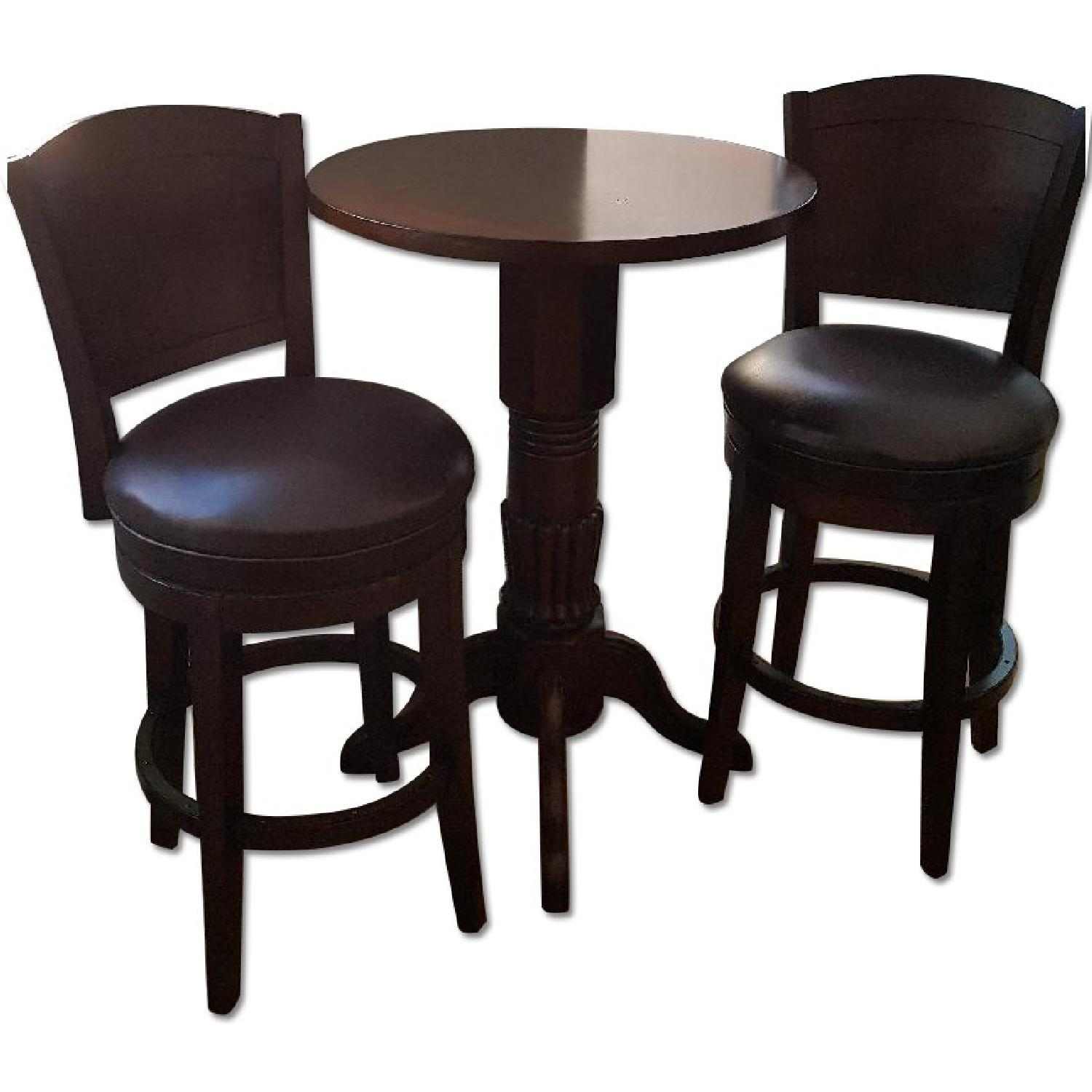Raymour And Flanigan Kitchen Sets: Raymour & Flanigan 3-Piece Bar-Height Dining Set