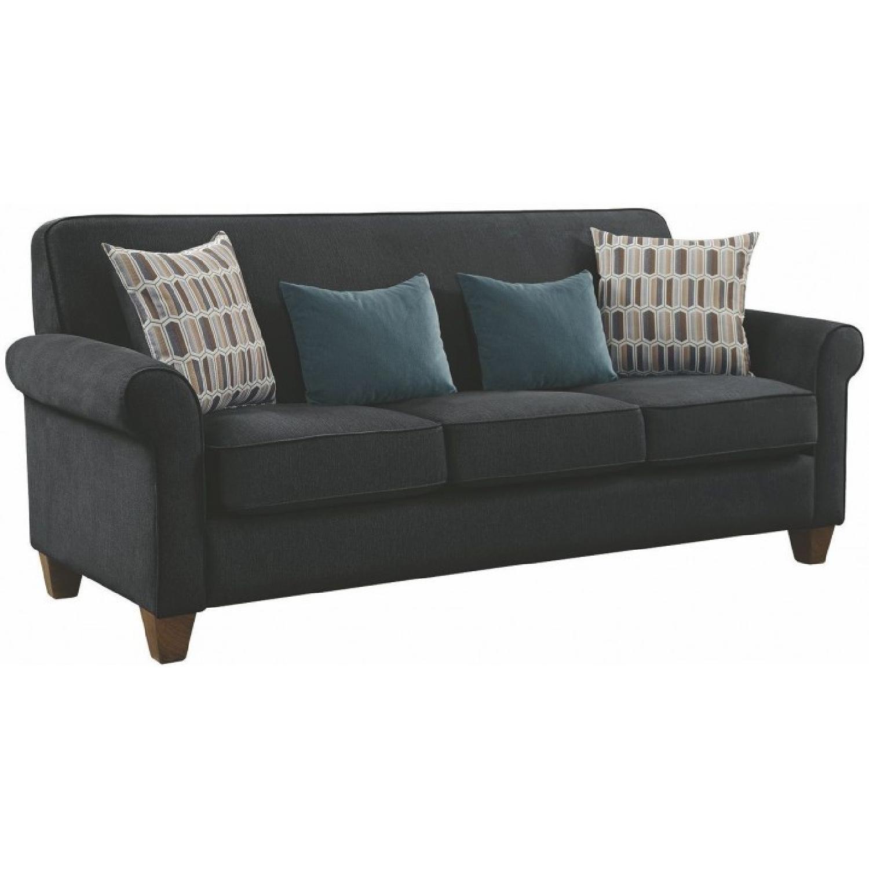 Mid-Century Gideon Graphite Sofa